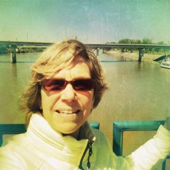 My own self in Little Rock, AK