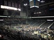 Philips Arena, Atlanta, pre-show.